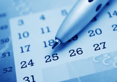 Free Calendar Stock Photography - 7666152