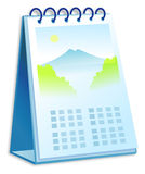 Calendar. Desk Calendar Royalty Free Stock Photography