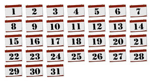 Calendar. 