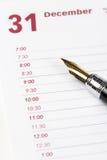 Calendar agenda Stock Photos