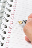Calendar agenda Stock Image