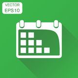 Calendar agenda icon. Business concept calendar date pictogram. Stock Images