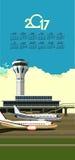 2017 Calendar Airport Stock Photography