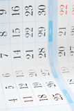 Calendar background Royalty Free Stock Photo
