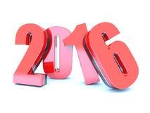 2016 calendar background. Happy New Year 2016 calendar white background Stock Photo