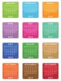 Calendar 2015 Royalty Free Stock Photos