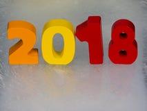 2018 calendar Stock Photos
