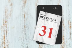 Calendar. New year`s eve new year`s day december january nye wall stock photography