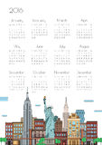 Calendar on city background,  Royalty Free Stock Image