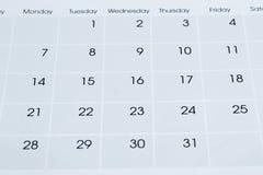 Calendar Stock Photography