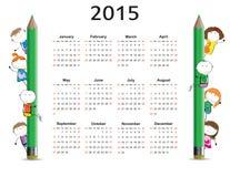 Calendar 2015 Stock Photos