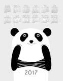 Calendar 2017 Stock Photos