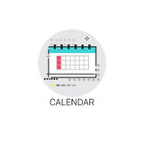 Calendar Date Month Deadline Icon Stock Photography