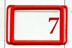 Calendar date Stock Photos