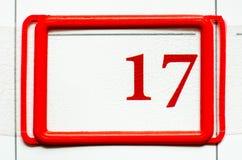 Calendar date Royalty Free Stock Photos
