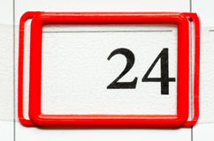 Calendar date Royalty Free Stock Photos