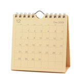 Calendar - December 2009 Royalty Free Stock Image