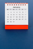 Calendar December Royalty Free Stock Photography