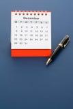 Calendar December Stock Photos