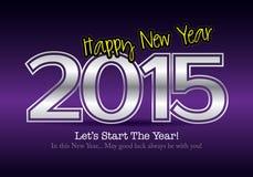 2015 Calendar- December. Simple calendar for December 2015 Stock Images