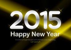 2015 Calendar- December. Simple calendar for December 2015 Royalty Free Stock Images