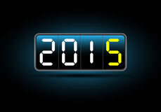 2015 Calendar- December. Simple calendar for December 2015 Stock Photography