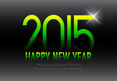 2015 Calendar- December Stock Photo