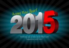 2015 Calendar- December Stock Image