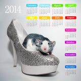Calendar 2014 Stock Photos