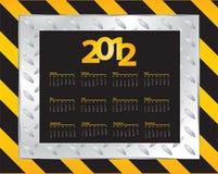 Calendar design Stock Photography