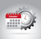 Calendar design Stock Images