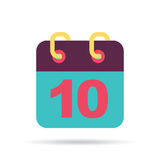Calendar design Royalty Free Stock Images