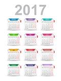 Calendar design Royalty Free Stock Image