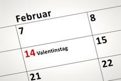 Calendar detail Stock Image