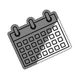 Calendar event date Royalty Free Stock Photos