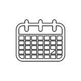 Calendar event date Royalty Free Stock Images