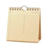 Calendar - February 2009. Desktop Calendar - February 2009, isolated in white Royalty Free Stock Image