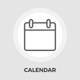 Calendar Flat Icon. Calendar Icon Vector. Flat icon isolated on the white background. Editable EPS file. Vector illustration Stock Photos