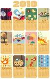 Calendar For 2010 Stock Photography