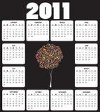 Calendar For 2011 Royalty Free Stock Photo