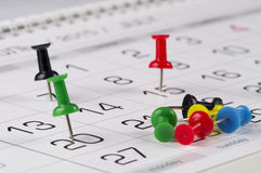 Calendar Royalty Free Stock Photo