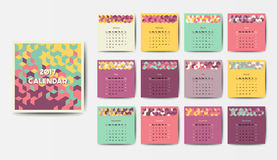 The 2017 calendar Royalty Free Stock Photo