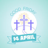 Calendar Good Friday Royalty Free Stock Images