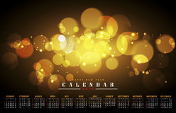 Calendar 2016. Happy new year and calendar 2016 Royalty Free Stock Photos