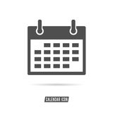Calendar icon black and white color illustration. Calendar icon black and white color design illustration vector illustration