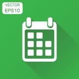 Calendar icon. Business concept calendar agenda pictogram. Vecto Stock Image