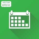 Calendar icon. Business concept calendar agenda pictogram. Vecto Stock Photos