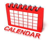 Calendar icon concept Stock Photo