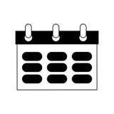 Calendar icon image Royalty Free Stock Image
