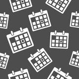 Calendar icon pattern Stock Photography